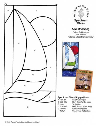 Фотография 6 - Шаблоны витражей - Шаблоны, рисунки и эскизы - Каталог - Витраж.